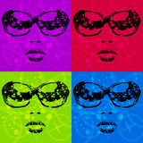 Style de disco illustration libre de droits