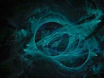 Style de fractale, future idée créative d'ornement de conception de carte moderne fantastique de puissance rendant le fond de mys illustration de vecteur
