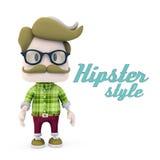 Style de hippie Photographie stock