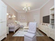 Style de la Provence de chambre à coucher Image libre de droits