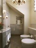 Style de la Provence de salle de bains Photographie stock