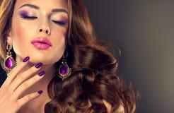 Style de luxe de mode Photographie stock
