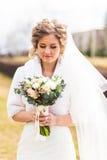 Style de mariage de vintage d'hiver Photo stock