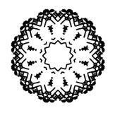 Style de minimalisme de logo de la Science d'énergie d'atome Images stock