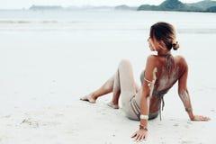 Style de plage de Boho image libre de droits