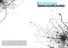style de pointe de la science fiction de Cyberpunk de fond d'absract de technologie Images stock