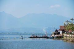 Style de vie du ` s de lac Phayao Photos libres de droits