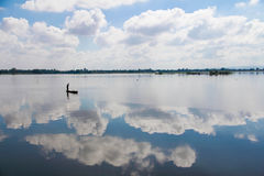 Style de vie du ` s de lac Phayao Photo libre de droits