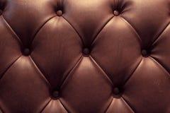 Style de vintage de fond de sofa de texture Photographie stock