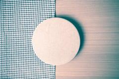 style de vintage de serviette de planche à découper et de cuisine Image stock