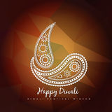 Style diwali vector design Royalty Free Stock Photos