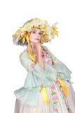Style du 18ème siècle de mode Images stock