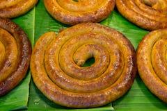 Style du nord de saucisse de la Thaïlande Photo stock