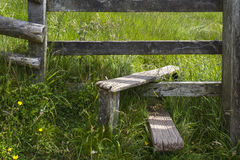 Style en bois Images stock