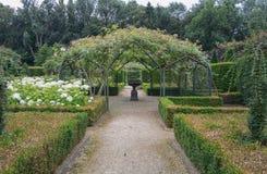 The style of the English garden Stock Photos