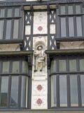 Style extérieur Peterborough de tudor Images libres de droits