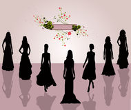 Style fashion women - vector Stock Photo