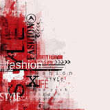 STYLE and FASHION word cloud concept Stock Image