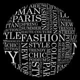 STYLE and FASHION word cloud concept. Stock Photography