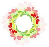 Style Flower. Floral design by plant elements s. The style of Flower vector illustration