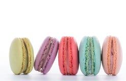 Style français de cuisine de dessert doux de macaron images stock