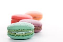Style français de cuisine de dessert doux de macaron photo stock