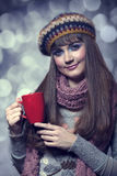 Style girl in  Royalty Free Stock Photo