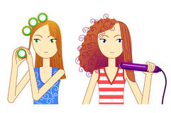 style hair Stock Images