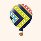 Style hot air ballon theme elements vector,eps Stock Images
