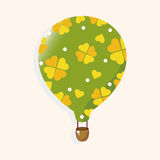 Style hot air ballon theme elements vector,eps. Vector illustration file Stock Photo