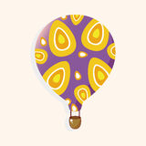Style hot air ballon theme elements vector,eps. Vector illustration file Royalty Free Stock Images