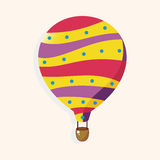 Style hot air ballon theme elements vector,eps Stock Photo