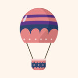 Style hot air ballon theme elements vector,eps. Vector illustration file Stock Images
