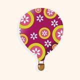 Style hot air ballon theme elements vector,eps Stock Photos