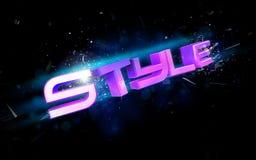 Style illustration Royalty Free Stock Image