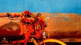 Style indien de moteur photo stock