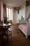In style kept rooms in the castle Valencay. Stock Images