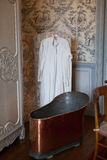 In style kept rooms in the castle Valencay. Stock Image