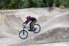 Style libre BMX Photos stock