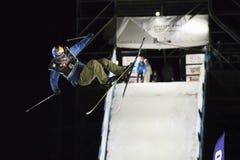 Style libre Ski Race pendant le grand air Milan Photo libre de droits