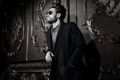 Style masculin fascinant Photographie stock libre de droits