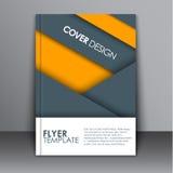 Style matériel de conception de couverture Photographie stock