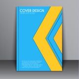Style matériel de conception de couverture Images stock