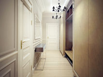 Style moderne de couloir Images stock