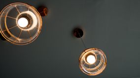 Style moderne de lampe ou de lumière Photo libre de droits