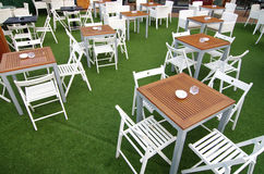 Restaurant moderne de style Images libres de droits
