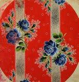 Style moderne de vintage original de textiles Gouache peinte à la main de vintage de croquis illustration libre de droits
