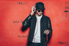 Style and music. Royalty Free Stock Images