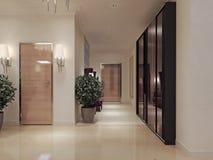 Style néoclassique de Hall photos libres de droits