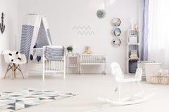 Style nautique de bébé images libres de droits